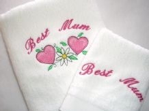Personalised Towel 2 Piece Gift Set